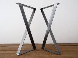Flat Bar Table Legs 35
