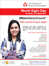 World Blindness Day World Sight Day Eflyer October 2017 Eng Png