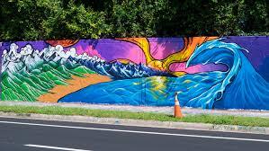 murals gainesville urban art a mural behind pop a top