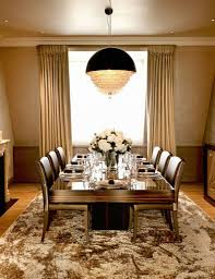 dining room luxury classic dining room with luxury glass shade
