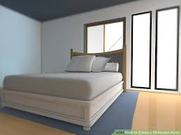 How To Have A Clean Bedroom How To Create A Minimalist Home With Pictures Wikihow