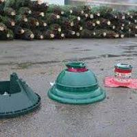 swivel tree stand with reservoir decore