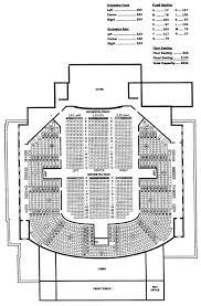orchestra floor plan standard seating map city of santa cruz