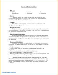 lab report template middle school lab report template middle school unique lab report exle middle