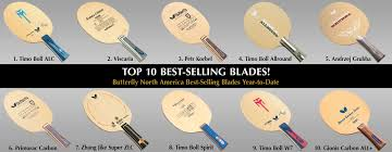 butterfly table tennis paddles butterfly top 10 best selling table tennis blades butterfly online
