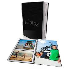 Bound Photo Albums A4 Spiral Bound Photo Books U2013 Harvey Norman Photos