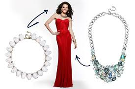 what jewelry to wear with what neckline glam u0026 gowns blog