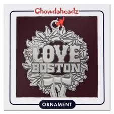 boston ornament chowdaheadz