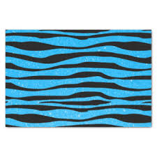zebra tissue paper glitter baby craft tissue paper zazzle
