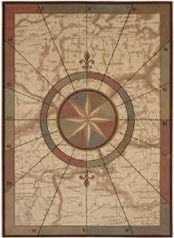 Nautical Area Rugs Stylish Compass Rug In 13 Best Nautical Custom Area Rugs