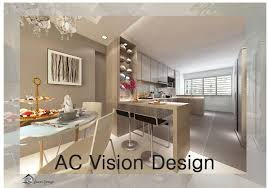 hdb bto 4 room open kitchen concept yishun