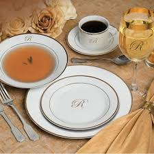monogrammed dishes 7 best monogrammed dinnerware images on china