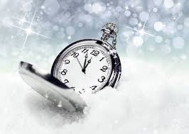 new year pocket new year s backgrounds pocket in the snow stock photo