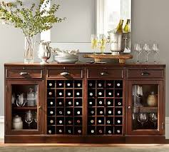 Modular Bar Cabinet 4 Modular Bar Buffet 2 Wine Grid Bases 2 Glass Door