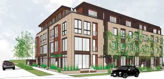 at home plans new hq with 26 apartments on bustling grand avenue