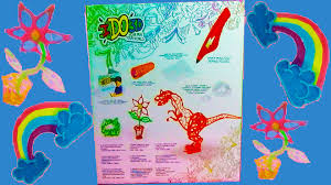 unboxing toys for kids ido3d pen review demo pen 3d crafts toys