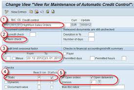 sap tutorial ppt credit management tutorial ova8