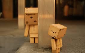 wallpaper danbo couple 2560x1600 toy box danboard toy cardboard danbo robot box
