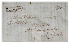 lot detail john adams autograph letter signed exceptional
