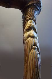 hand carved walking sticks by cayugalakecarvings on etsy wood
