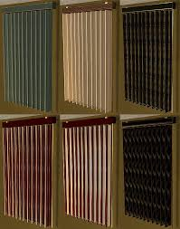 Short Vertical Blinds Mod The Sims Vertical Blinds Long And Short 13 Recolors