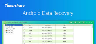 android data recovery review tenorshare android data recovery review