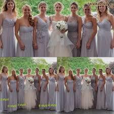 light gray bridesmaid dresses light grey chiffon bridesmaid dresses naf dresses