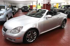 used lexus 2007 used lexus sc cars spain