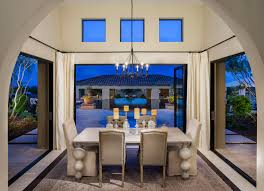 have a lite dinner in this gorgeous dining room from the vacaro at