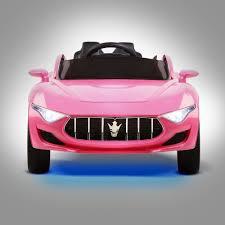 pink maserati kids ride on sports car u2013 pink u2013 discount house australia