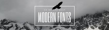 contemporary resume fonts styles 50 modern fonts to give your designs a contemporary feeling learn