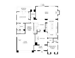 blue harbor residence two floor plan at pacifica san juan blue