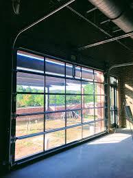 Advanced Overhead Door by Aluminum Glass Garage Overhead Sectional Roller Doors In New