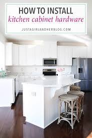 Install Cabinet Hardware How To Install Kitchen Cabinet Hardware