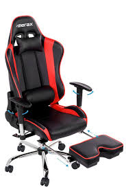 Gaming Desk Chair Merax Back Erogonomic Racing Style Adjustable