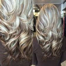 silver hair with blonde lowlights chocolate and blonde highlights hair colour inspiration rock