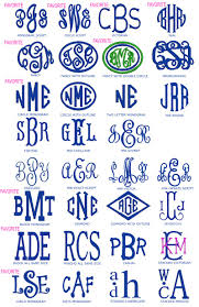 3 letter monogram fonts preppy monogrammed gifts fonts artsy