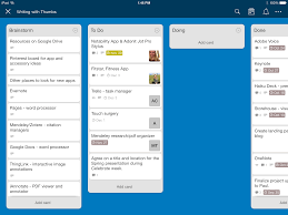 use trello to work together