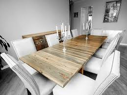 imposing design white washed wood dining table peaceful dining