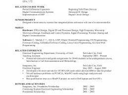 banking resume format