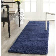 Shaggy Runner Rug Blue Shag Runner Rugs For Less Overstock