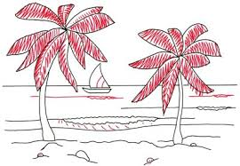 4 add texture how to draw a tropical beach scene howstuffworks