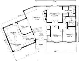 2500 Sq Ft Ranch Floor Plans by Ranch Style House Plan 3 Beds 2 00 Baths 2400 Sq Ft Plan 136 112
