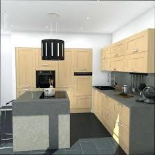 plan ilot cuisine ilot cuisine bois affordable vernis pour plan travail cuisine bois