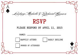 las vegas wedding invitations las vegas wedding invitations rsvp card