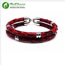 luxury leather bracelet images Buy latest luxury python leather bracelet snake jpg