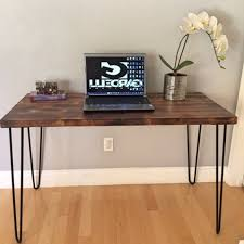 Wood Desk Ideas Best 25 Reclaimed Wood Desk Ideas On Pinterest Desks