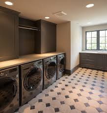 Laundry Room Base Cabinets Gray Laundry Room Design Contemporary Laundry Room Thompson