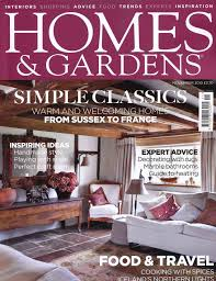 home and design uk idyll home in homes and gardens magazine november issue
