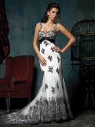 black and white wedding dresses fabulous black and white wedding dresses